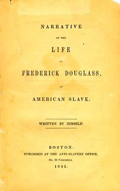 An essay on Douglass and Jacobs.