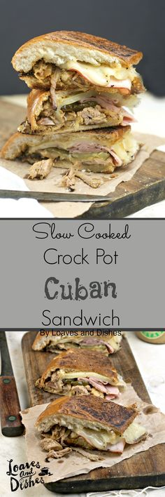 This slow cooker, crock pot dish allows you to have the quickest most delicious dinner ever! Adults and children alike LOVE a Cuban Sandwich! Easy and Tasty!