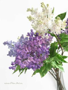Handmade Flowers Decoclay