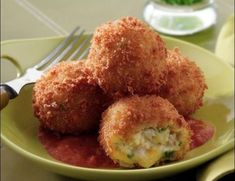 Turkey and Smoked Cheddar Croquettes with Smoked Tomato Sauce - Price Chopper Recipe Greek Recipes, Baby Food Recipes, Snack Recipes, Cooking Recipes, Turkey Croquettes, Vegan Patties, Greek Dishes, Recipe Details, Mini Foods