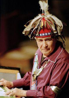 Onondaga Iroquois Chief Oren Lyons