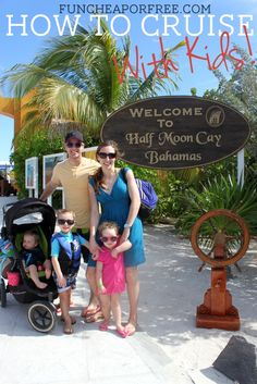 Blog post at Fun Cheap or Free :  Recently my husband and I took our 3 little kids (ages 4yrs, 2.5y, and just turned 1) on a 5-night cruise to the Bahamas...and survived. I[..]