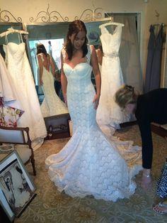 Pnina Tornai 'Custom' size 4 new wedding dress - Nearly Newlywed