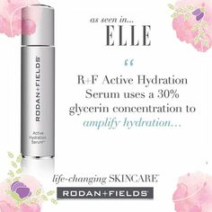 New product alert! Our brand new hydration serum works with all regimens. You'll love it. Get yours today. Kesluzewski@gmail.com