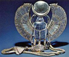Tutankhamun Winged Scarab Pectoral