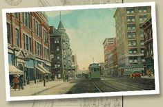 Terre Haute City in Indiana Terre Haute is a city in and the county seat of Vigo County, Indiana, United States, near the state's western border with Illinois.  Vintage postcard of downtown Terre Haute: Wabash Avenue looking east