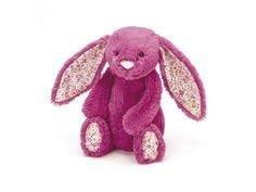 Jellycat - Blossom Rose Bunny Medium - Hauteur 31 cm.  #cadeaunaissance #doudou #jellycat #bébé #grossesse #enceinte #maternité #décoration #enfant #accouchement #peluche