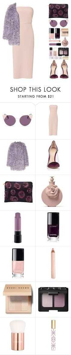 """Leila"" by vandesousa ❤ liked on Polyvore featuring Fendi, Elizabeth and James, Emilio Pucci, Gianvito Rossi, Forest of Chintz, MAC Cosmetics, Chanel, Trish McEvoy, Bobbi Brown Cosmetics and NARS Cosmetics"