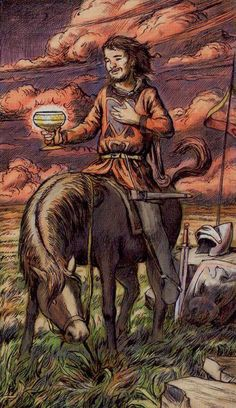 7 Best Knight of Cups Tarot images in 2017 | Knight of cups tarot