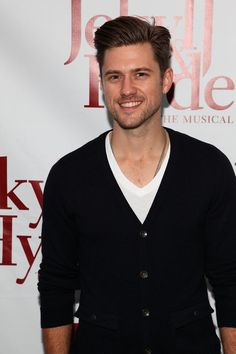 He just...I mean he really...You know sometimes I...All I can say is...Aaron Tveit.