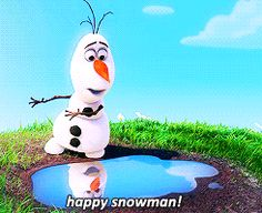 "Community Post: 19 Signs You're Olaf From ""Frozen"""
