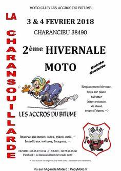 2 eme HIVERNALE MOTO, Les ACCROS DU BUTUME, LA CHARANSOUILLARDE, concentration moto, festival