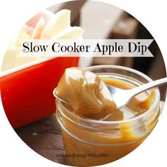 Perfect creamy caramel apple dip, with just one ingredient and your slow cooker? You won't believe how easy this is. Or how yummy.