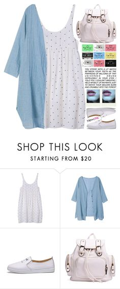 """""""blue eyes // NewChic Style"""" by scarlett-morwenna ❤ liked on Polyvore featuring Polaroid and vintage"""