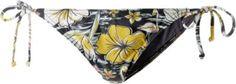 #Billabong #Tropical #Bikini #Hosen #Damen #schwarz/gelb/weiß -
