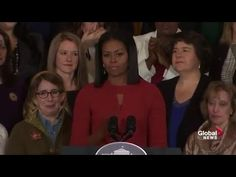 Michelle Obama delivers emotional final speech as first lady of the Unit...