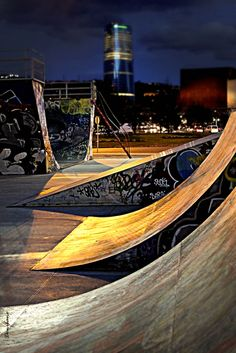 """""""Bilbao, a view from the Botica Vieja"""" by Donibane Creative Studio, Bay Of Biscay, Asturian, Natural Park, Basque Country, Most Beautiful Cities, Skate Park, Best Cities, Great Places"""