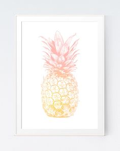 Pink and Gold, Pineapple Print, Pink and Gold Decorations, Coral and Gold Nursery Bedding, Coral and Gold Wedding, Peach and Gold Nursery by SutilDesigns on Etsy https://www.etsy.com/listing/230169467/pink-and-gold-pineapple-print-pink-and