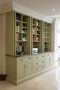 Designer Kitchen Concealed Storage