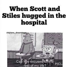 Teen Wolf Scott and Stiles Teen Wolf Hug