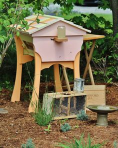 top bar beehive on Pinterest   Top Bar Hive, Bee Hives and Beehive
