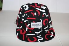 Quietlife Los Angeles 5 Panel Hat New Without Tags Black w Red White | eBay