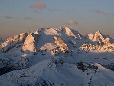 Marmolada 3.342 m - Dolomiti Pic. Archivio Dolomiti SuperSki #dolomitiorg