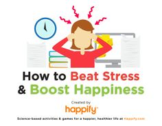 how to be happy 620x484 How To Be Happy And Beat Stress | Infographic
