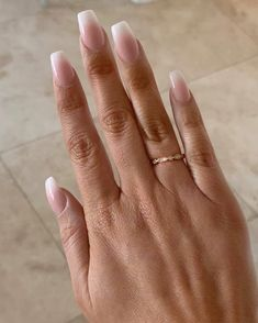 Beautiful French ombré aka baby boomer nails. Such a gorgeous, elegant nail design. Head to our website to book an appointment in our Perth nail salon
