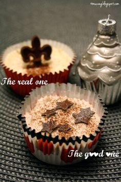 #cheesecake cupcake battle: real vs. #vegan bymuc.veg