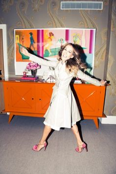 Sarah Jessica Parker, Gayle King & Adam Glassman | The Coveteur | Style Icon