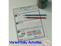 I'm a BIG FAN of time saving RTI activities to help reading interventions run smoothly - especially in kindergarten and first grade where classroom time and effort must be considered!  Learn more and grab a freebie!