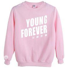 KPOP Bangtan Boys Sweater BTS Sweatshirt Suga Rap-Monster Jacket... ($20) ❤ liked on Polyvore featuring tops