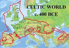 Celtic world c. 400 BCE