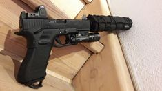 G17 Suppressed, RMR, X300V Edc, Hand Guns, Building, Projects, Accessories, Firearms, Log Projects, Pistols, Buildings