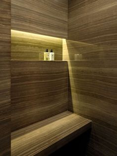 light in shower niche, Nitzan Design, NYC