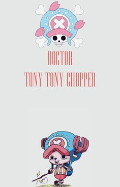 one piece, anime, and tony tony chopper image