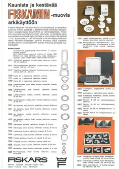 Fiskars Fiskamin brochure from the 1960's.