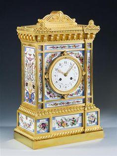 A Louis Phillipe mantel clock, France, circa 1835 | New York | Mallett Antiques
