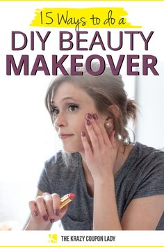 Isolation might just be the perfect time to do your own beauty makeover at home. If, like me, you're missing your regular appointments and wondering how to keep feeling your best even while stuck a. Diy Spa Day, Spa Day At Home, Home Spa, Self Haircut, Makeup Tips, Makeup Hacks, Do It Yourself Organization, Beauty Makeover, Thick Brows