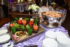 Raw Veggies, Atlanta Weddings, Avenue Catering Concepts, The Pavillion at Olde Towne