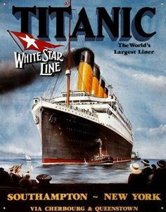 Rms Titanic, Film Titanic, Titanic Poster, Titanic History, Titanic Prom, Pub Vintage, Photo Vintage, Vintage Images, Bottom Of The Ocean