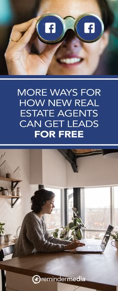 This is part two in a series about lead generation for new real estate agents. You can get leads for free from more places and in more ways than you might have thought possible. This time, we go digital with Facebook. real estate agent leads - get more leads - realtor lead generation - marketing ideas - marketing tips - referrals business Estate Agents, Might Have, Marketing Ideas, Lead Generation, Real Estate Marketing, Led, Canning, Facebook, Digital