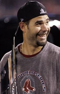 Mike Lowell, Boston Red Sox. 2007 World Series Champion and Series MVP. Clutch player and awesome guy.