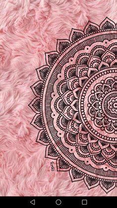 Super Ideas For Mandala Art Wallpaper Iphone Mandala Doodle, Easy Mandala Drawing, Mandala Art Lesson, Doodle Art Drawing, Mandala Artwork, Mandala Painting, Art Drawings, Tattoo Drawings, Sun Mandala