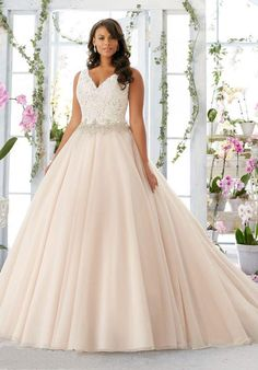 2016 Blush Pink Skirts Plus Size Wedding Dresses Lace Beaded Crystals Backless Wedding Gowns V Neckline A Line Bridal Gowns Wedding Dress 2011 2015 Wedding Dresses From Gonewithwind, $201.01| Dhgate.Com