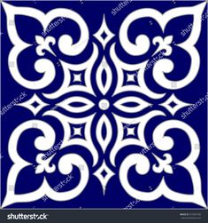 Geometric Islamic Pattern Arabesque blue and white., Geometric Islamic Pattern Arabesque blue and white. Geometric Islamic Pattern Arabesque blue and white. Stencil Templates, Stencil Patterns, Tribal Patterns, Stencil Designs, Tile Patterns, Stencils, Islamic Art Pattern, Arabic Pattern, Ceramic Painting
