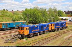 RailPictures.Net Photo: 73962 GBRailfreight BR Class 73 at Tonbridge, United Kingdom by Jonathan King