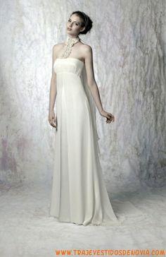 Classic  Dinamarca  Vestido de Novia  WhiteDay