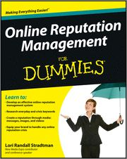 #Online #Reputation #Management For #Dummies shows you how to set up a system that works every day, helps forward your brand's online goals, and is able to deal with negative chatter. Covering everyday listening and messaging as well as reputation management for special events or crises, this book walks you through step-by-step instructions and tips that will help you build and maintain a positive online presence.